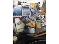 job lot of brand new phone cases mixed samsung iphone ect