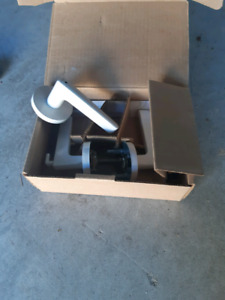 Like New condition! Door Levers !Entr Locks white in Box!