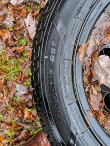 4 pneus 235/55R17
