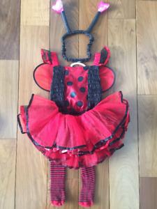 Costume Coccinelle, enfant 2-3  ans