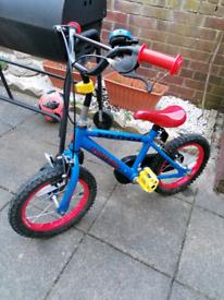 Bike spider man 14 inch