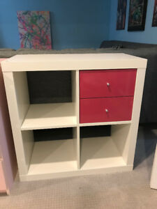 Ikea Kallex Shelf Unit with Drawers