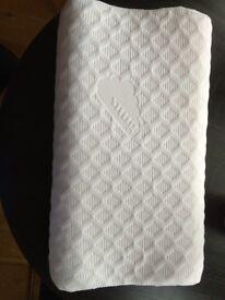 Snug Single Contour Memory Foam Pillow plus COOLMAX