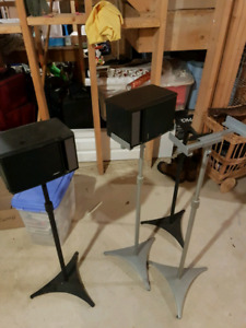 Bose Surround Speakers with Stands
