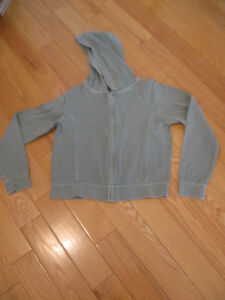 BRODY ZIP-FRONT HOODED LONG-SLEEVED YOUTH SIZE SWEATER