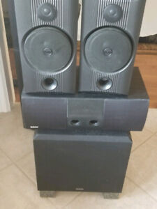 Speakers, Velodyne Subwoofer, B&W centre channel and rear and Ce