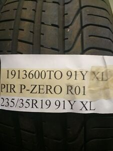 Audi 235/35R19 Pirelli P-Zero performance tire