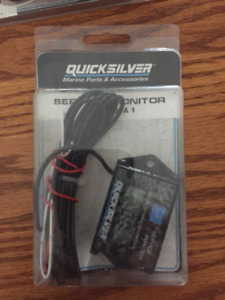 Quicksilver Hour Meter/Service Monitor