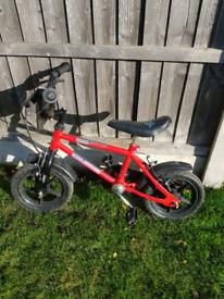 Boys small bike