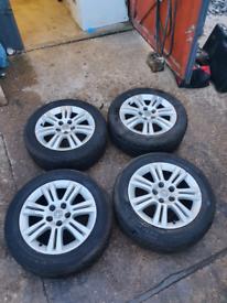Vauxhall 205 55 16 alloys