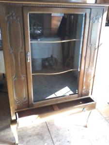 Antique Display Cabinet-Gibbard