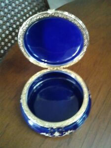 Limoges plate & jeweley box