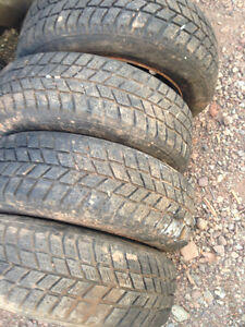 4-new P175/65R14 winter tires on wheels/also 4-P225/60r16etc.
