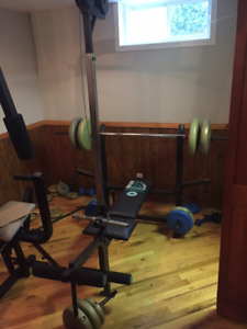 Appareil de gym (bench york 230)