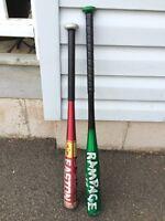 Junior baseball bats