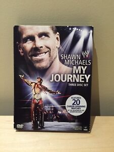 WWE SHAWN MICHAELS MY JOURNEY DVD