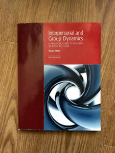 Interpersonal and Group Dynamics Textbook