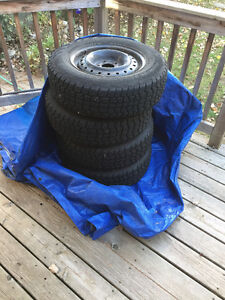 Used Hercules Avalanche X-treme tires for sale with rims Windsor Region Ontario image 3