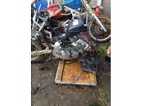 CBR 600 Engine. With all accessories.