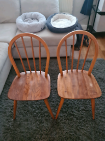 Ercol 370 Stick Back Windsor Chairs *collection only*