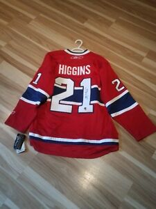 Autographed Chris Higgins Montreal Canadiens Jersey