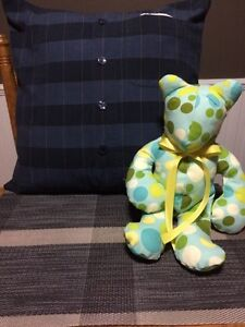 Memory bears, memory pillows and memory quilts