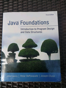 Java Foundations Textbook - Price negotiable