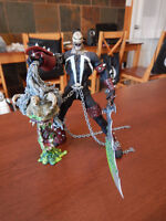 Spawn (McFarlane) Spawn VI (loose, complete with sword and head)