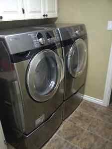 Samsung Washer and Dryer.