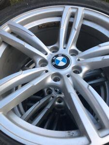 """BMW orginal mags and runflat winter tires Nokia 18"""""""