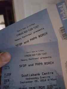 2 Five finger death punch tickets