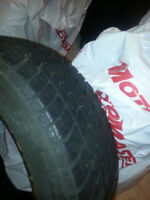 185/60/15 Toyota yaris tires with out rim