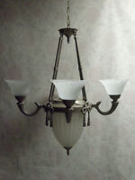 2 Coordinating Traditional Up/Down Chandeliers