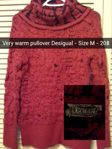 Desigual Wool Pullover
