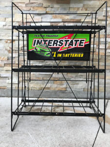 Interstate Battery stand