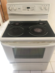 Kenmore Self Cleaning Glass Top Stove