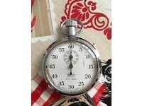 Vintage Smiths Shockproof Old Pocket Watch Stop Watch