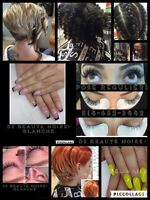 COIFFURE,COUPE,MECHES,RALLONGE,CILS,ONGLES,SALON,MONTREAL,LAVAL,