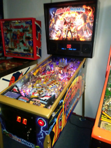 pinball Medieval madness LE gold a vendre