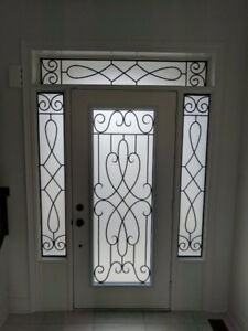 Wrought Iron Single Door Inserts Starting at $350