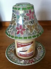 Yankee candle shade and plates sets x3 of each