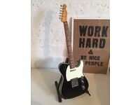 Fender Telecaster 62 Black Bound Edge Guitar