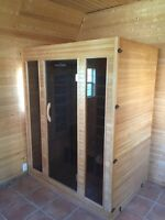 2 Person Infrared Sauna with Radio/CD player