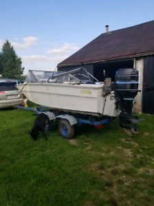 Boat and motor parts