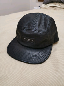 Supreme Perforated Leather Camp Hat