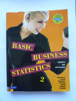 Basic Business Statistics Concepts and Application  2nd Edition Melbourne CBD Melbourne City Preview