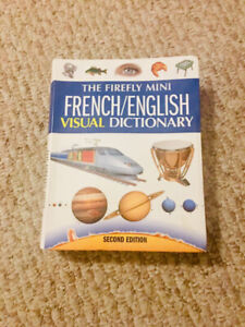 AMAZING .FRENCH/ENGLISH DICTIONARY W/ GRAPHICS!