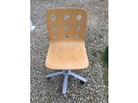 Ikea Beech Swivel Chair