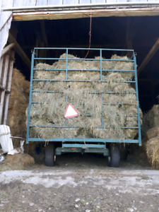 Good quality first cut and second cut hay for sale