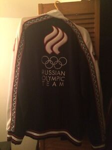 Bosco track top , Russian Olympic team.  West Island Greater Montréal image 2